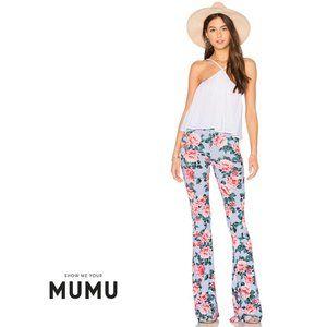 SHOW ME YOUR MUMU Bam Bam Bell Pant Cabbage Rose M